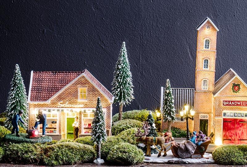 Kerstdorp maken in 7 stappen