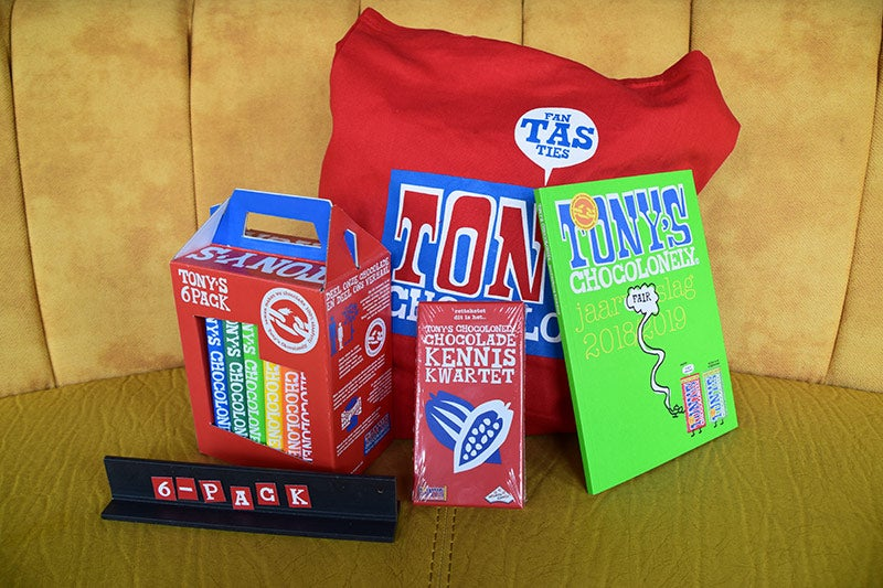 Tony's Chocolonely pakket