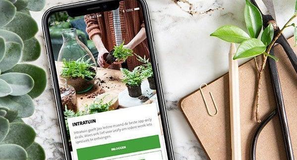 Korting met de Intratuin app