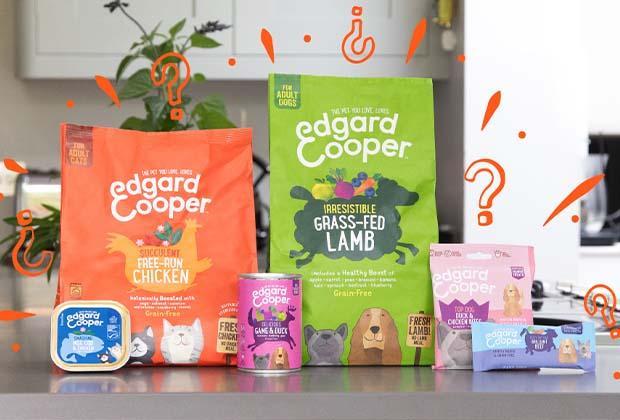 Welke soort Edgard & Cooper voer kies je voor je kat of hond?