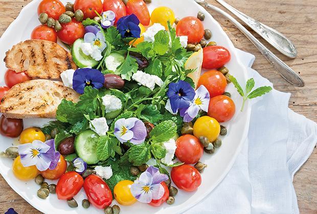 Recept: candytom salade