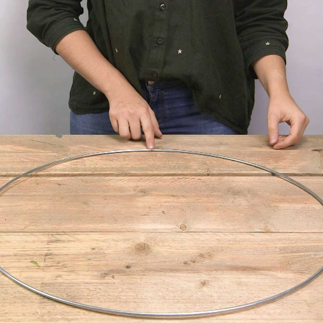 DIY Eucalyptus krans stap 2: Look kiezen