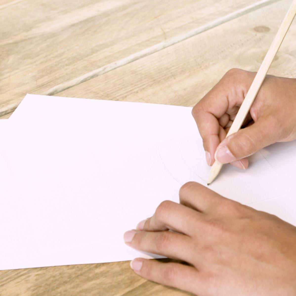 DIY Handlettering stap 1: grove indeling