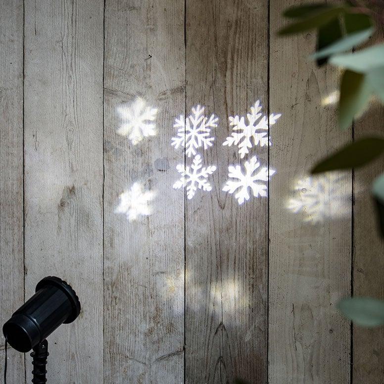 Kerstverlichting projector