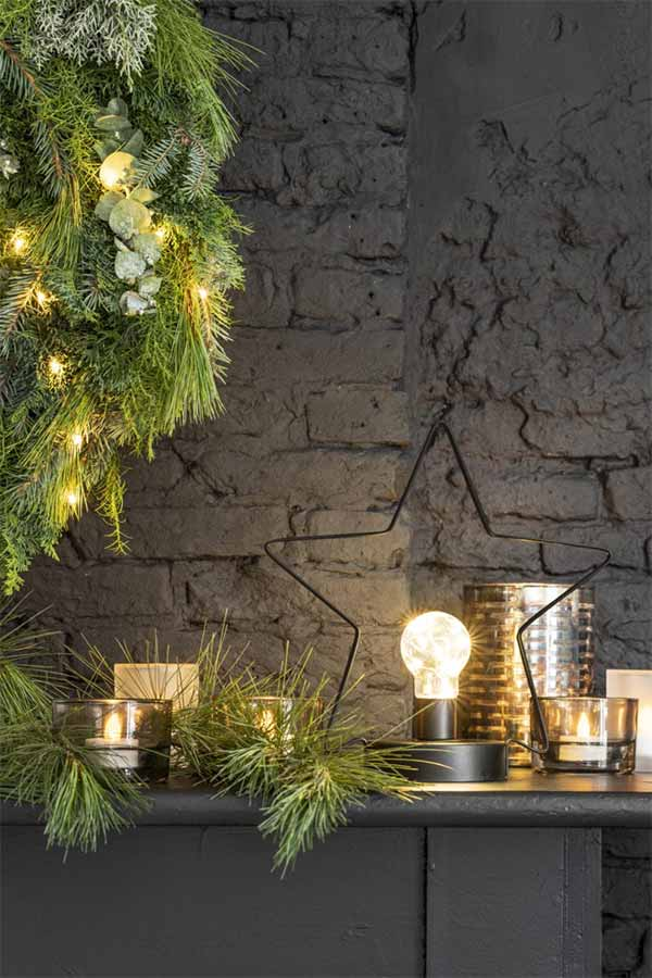Kerstlamp kerstster