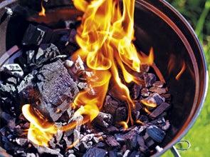 Barbecue aanmaken en brandstof