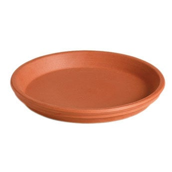 Mega Collections schotel waterresistent D 13 cm terracotta