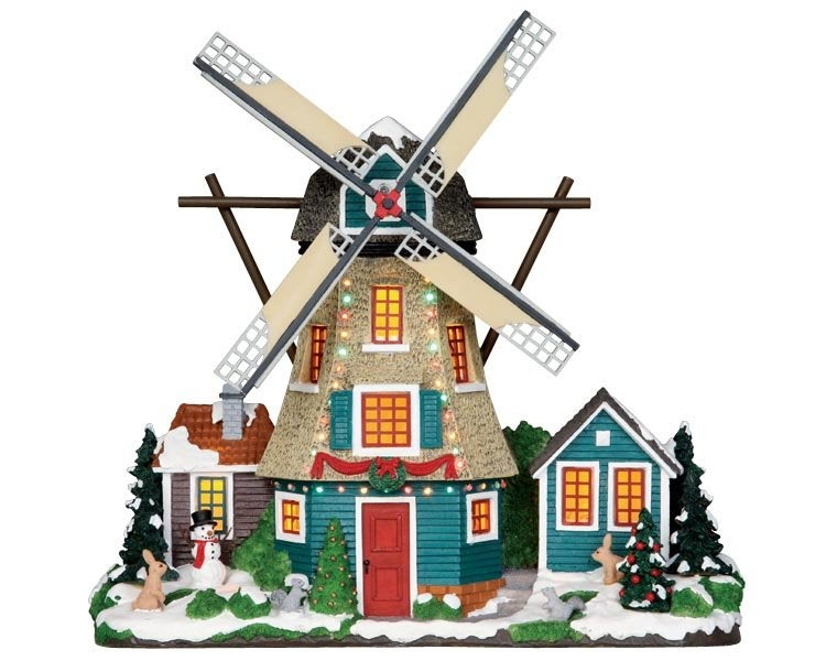 Lemax windmill (windmolen) H 28,5 cm