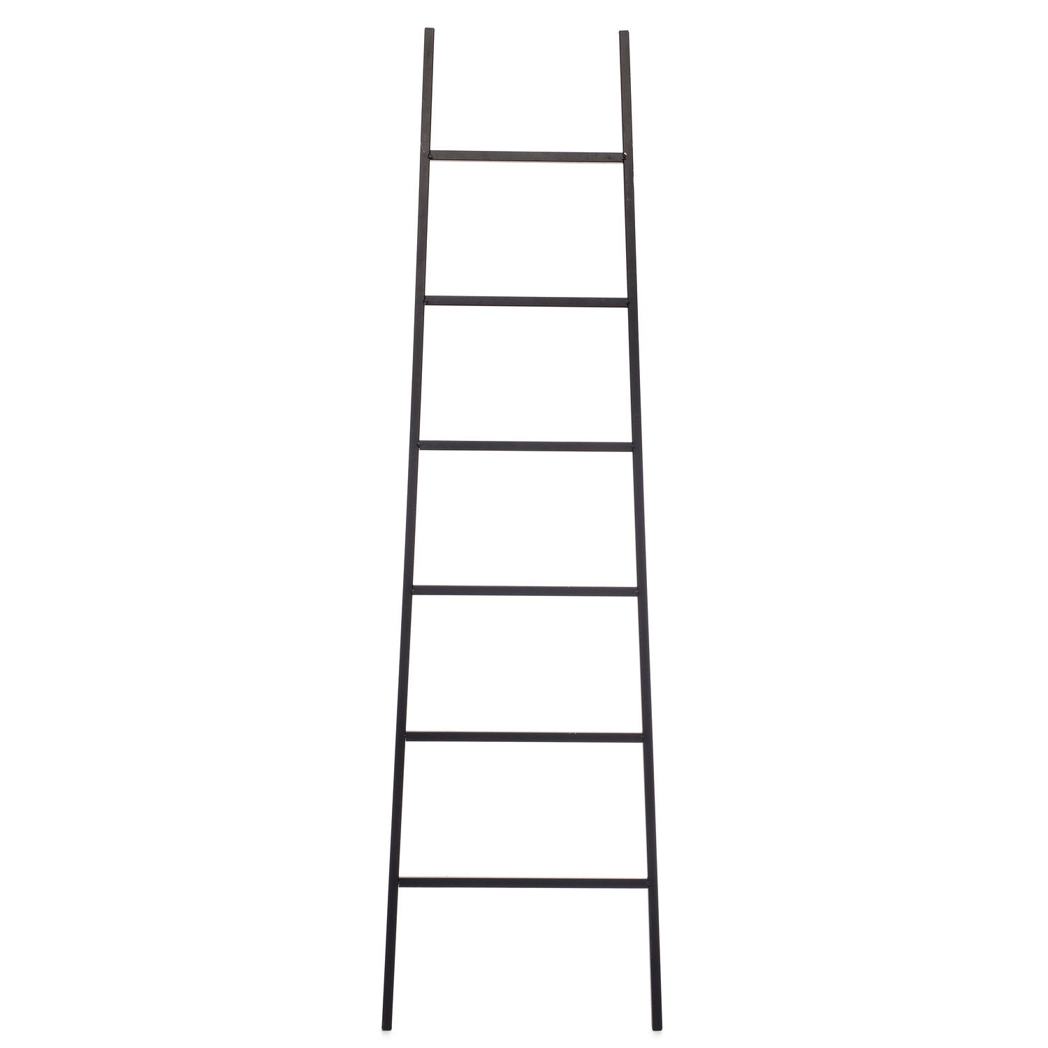 Intratuin deco ladder Harry H 160 cm zwart