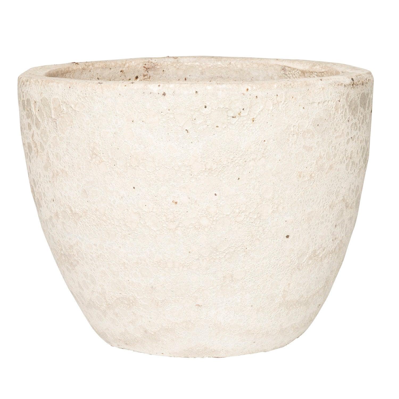 Intratuin pot duo D 29 H 23 cm crème