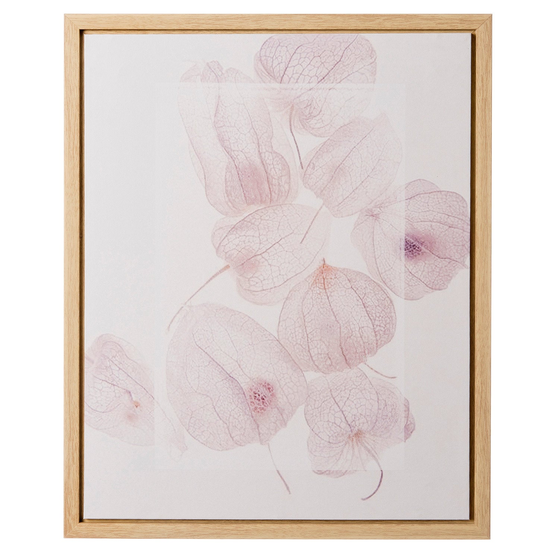Intratuin canvas bloemprint 40 x 50 cm pastel