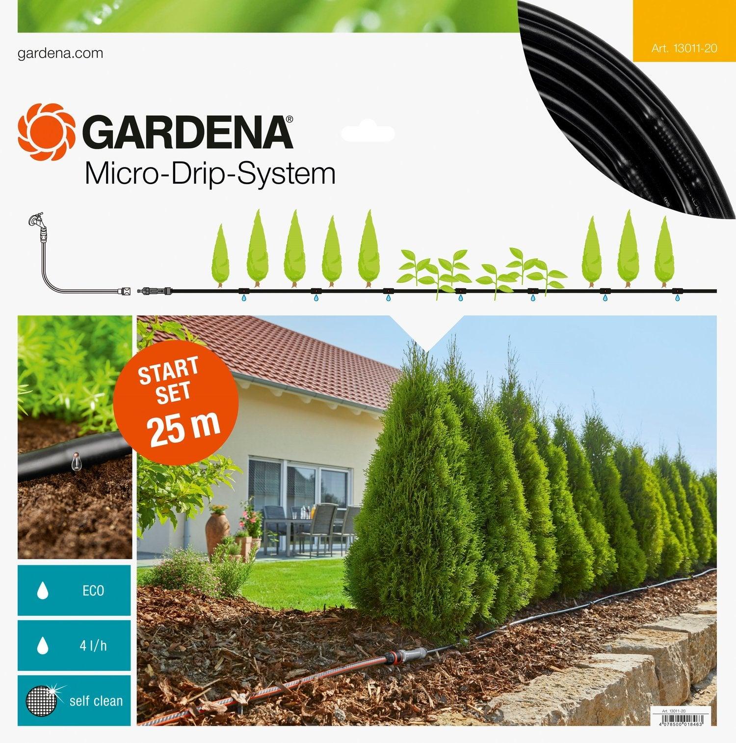 Gardena Micro Drip Startset 25 m plantenrijen