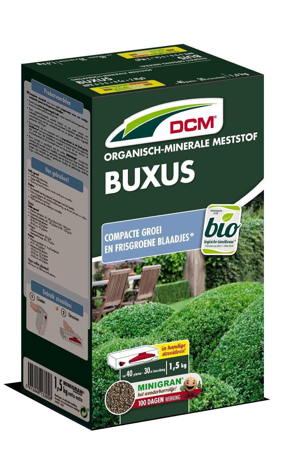 DCM meststof buxus 1,5 kg