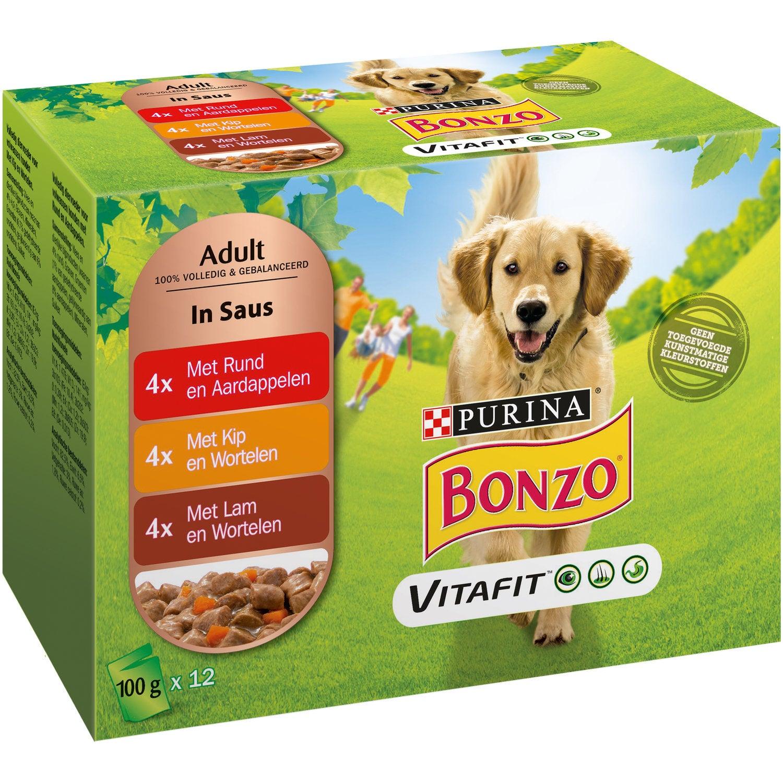 Bonzo Adult Lam Met Wortel 100 g