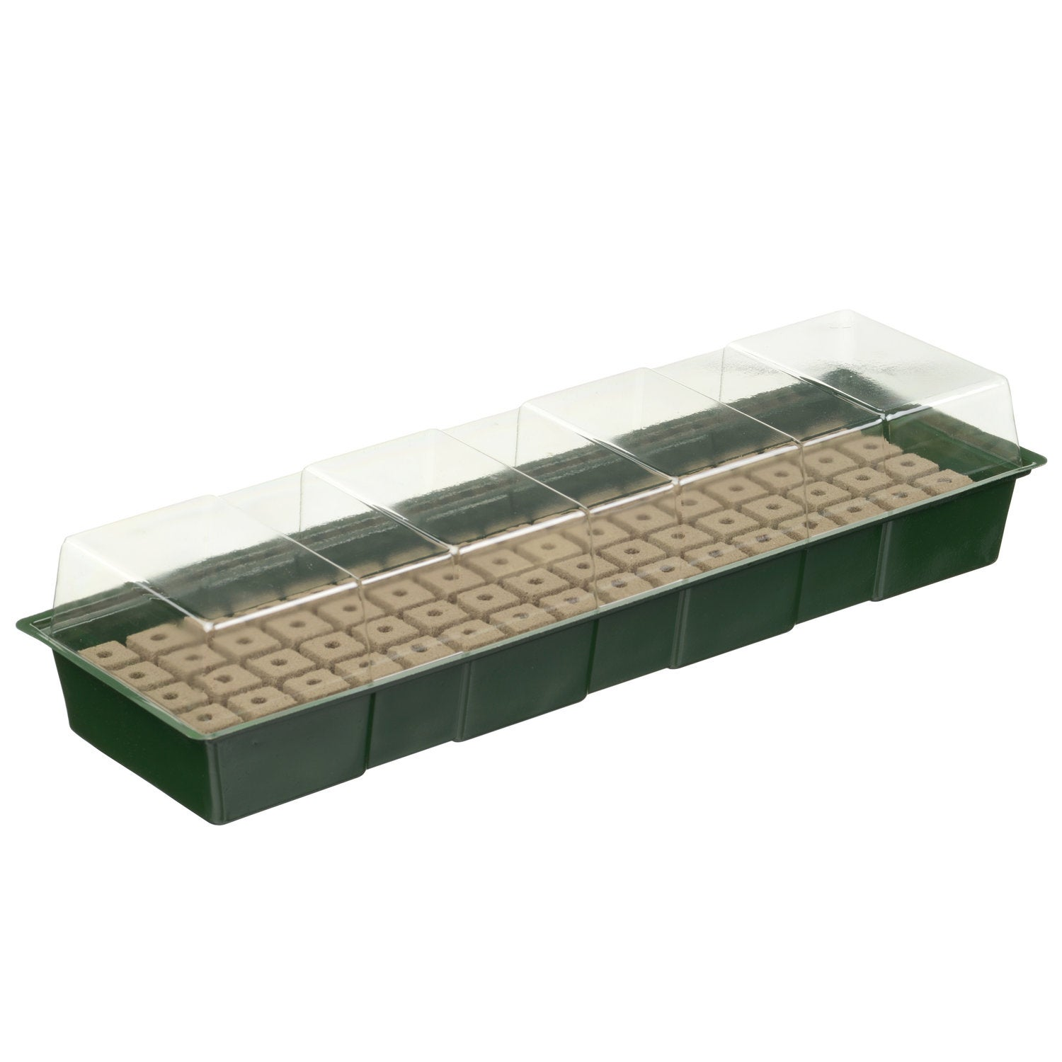 Nature vensterbankkweekset incl. groeimedium 49x15,5x10cm (4x16cellen)