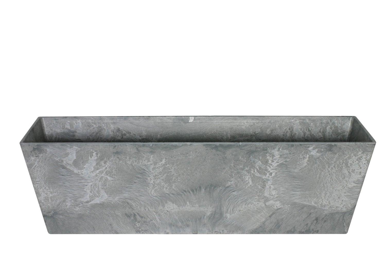 Balkonbak Ella 74 x 17 x 17 cm grijs