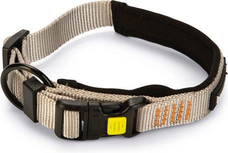 Beeztees hondenhalsband Parinca Premium grijs 35-40 x 2 cm