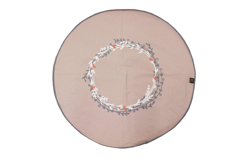 Factory Petite vloerkleed Boho D 90 cm roze