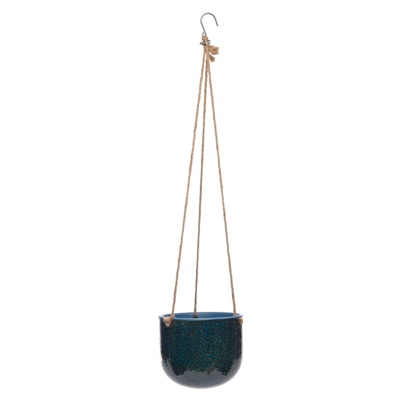Intratuin hangpot Noël blauw D 17 H 14 cm