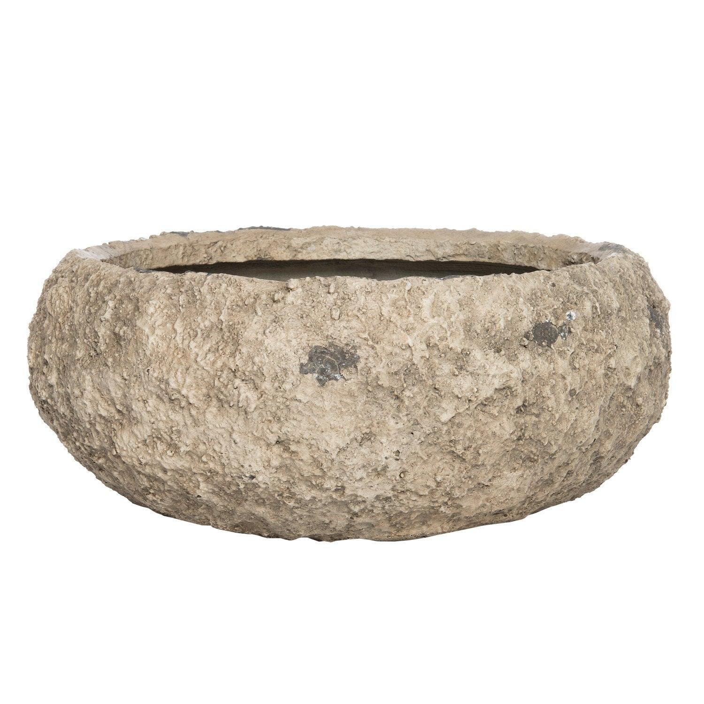 Intratuin schaal Mud antiek wit D 41 H 16,5 cm