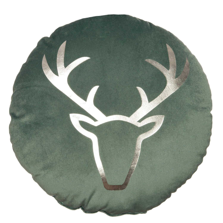 Intratuin sierkussen Rudolph groen 35 x 35 cm