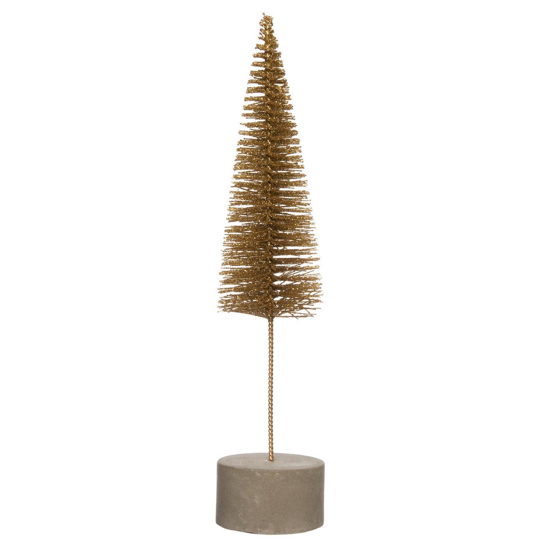 Intratuin decoratieboom goud D 5 H 22 cm