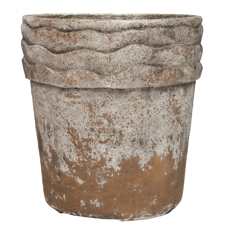 Intratuin bloempot bruin / crème D 29 H 31 cm