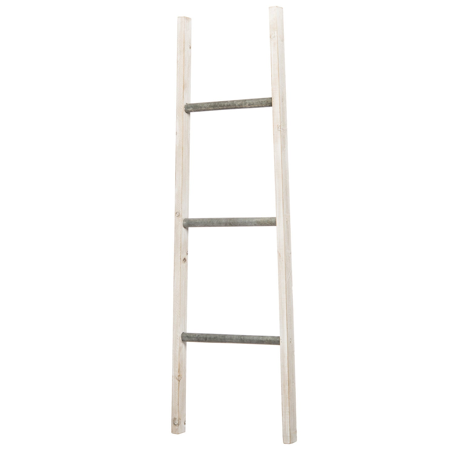 Intratuin decoratie ladder wit 36 x 4 x 120 cm