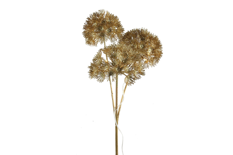 Countryfield kersttak berenklauw goud 17 x 22 x 89 cm met 20 LED lampjes wit