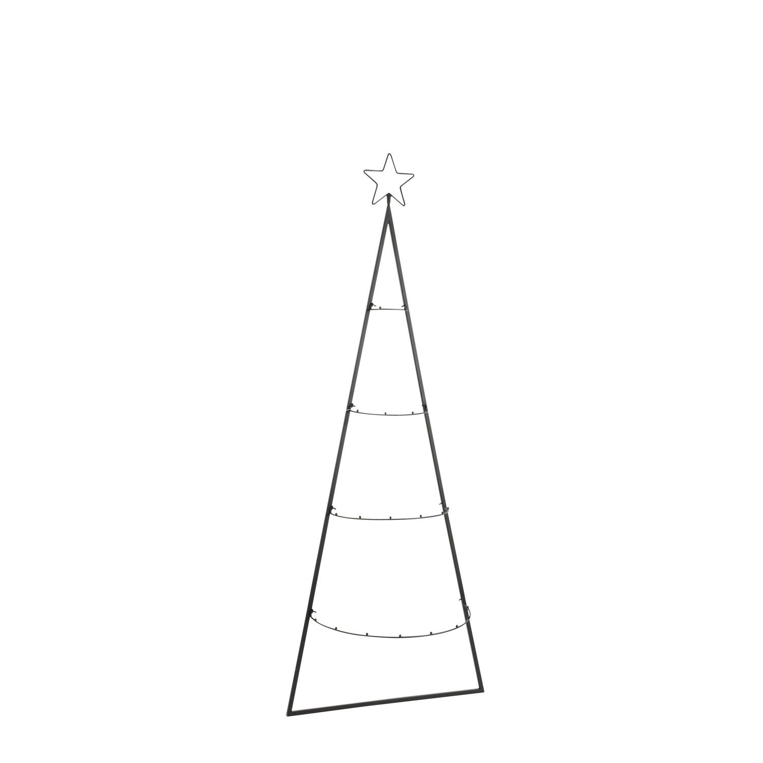 House of Seasons wandhanger boom zwart 50 x 1 x 131 cm