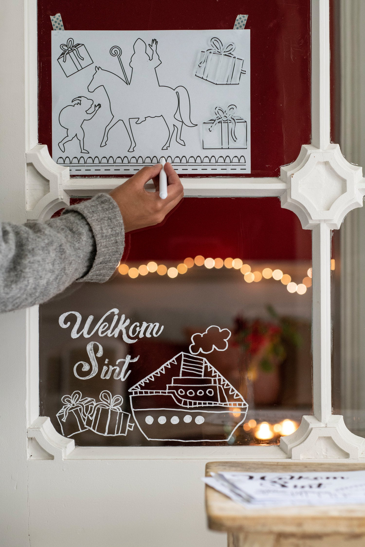 Sinterklaas raamdecoratie set