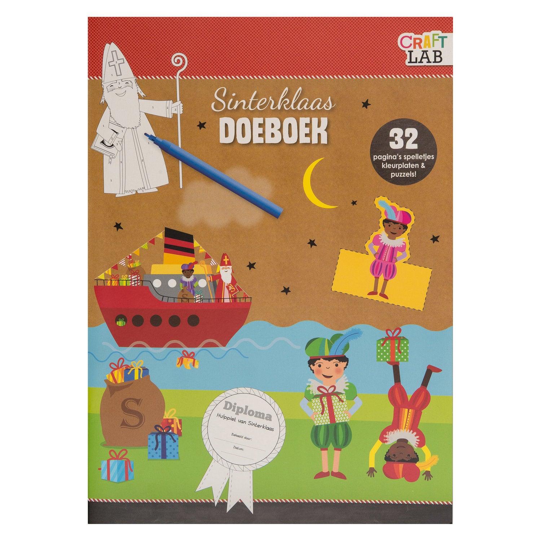 Teken- en doeboek Sinterklaas