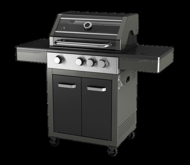 houtskool barbecue folder aanbieding bij Intratuin details