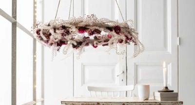 Zwevende-bloemenkroon