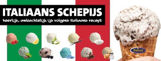 Heerlijk, ambachtelijk schepijs volgens Italiaans recept!