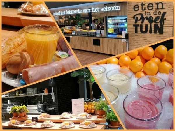 Met trots presenteren we u ons restaurant 'Eten in de Proeftuin'
