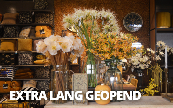 EXTRA LANG GEOPEND