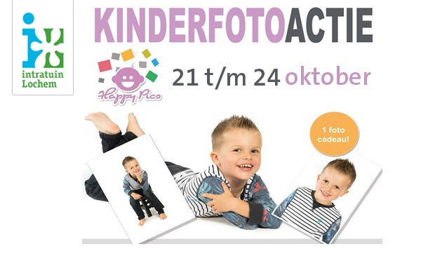 Happy Pics Kinderfotografie bij Intratuin Lochem