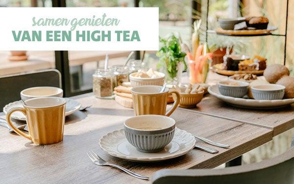 Samen genieten van een high tea