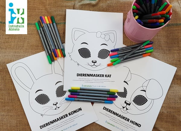 Inloopworkshop dierenmasker maken