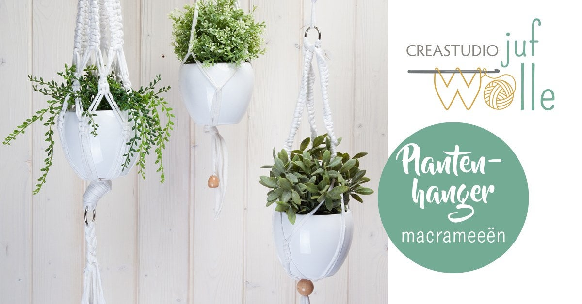 Workshop plantenhanger macramé
