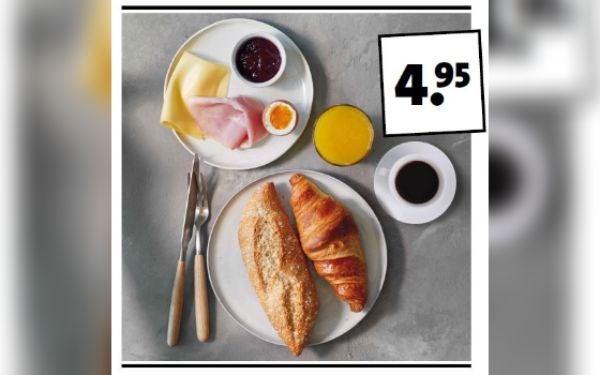 Ontbijten bij Intratuin