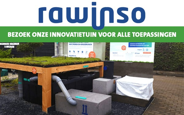 Rawinso: Gebruik regenwater slim