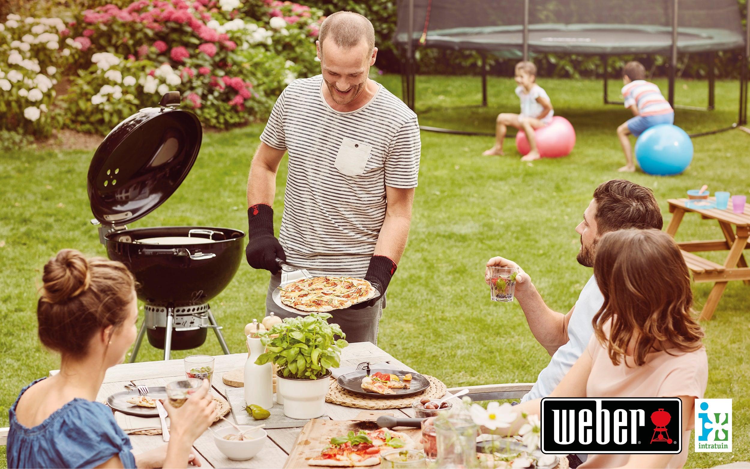 Barbecuepret met Weber!